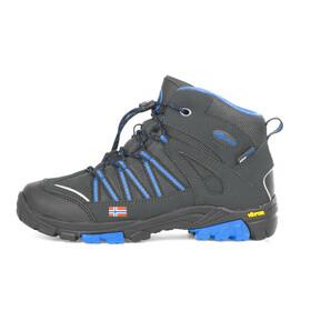 TROLLKIDS Lofoten Hiker Mid-Cut Schuhe Kinder anthracite/med blue